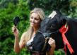 Who is the fairest of them all: Former Miss World Rosanna Davison helps launch Ireland's Mooty Pageant for bovine beauties which takes place on 30th July.