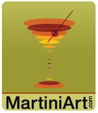 Shop martiniart.com for martini glasses & shakers