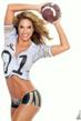 Fitness Celebrity Jennifer Nicole Lee Football Body Paint