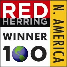 Red Herring 100 North America Winner Logo