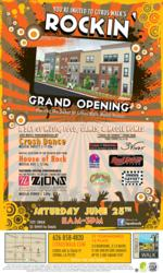 Citrus Walk Announces Rockn' Grand Opening Event June 25th 11a to 3p