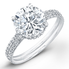 Norman Silverman 2011 WInner Classic Engagement Ring ...