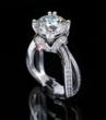 Coffin and Trout 2011 Winner Vintage Inspired Engagement Ring