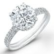 Norman Silverman 2011 WInner Classic Engagement Ring