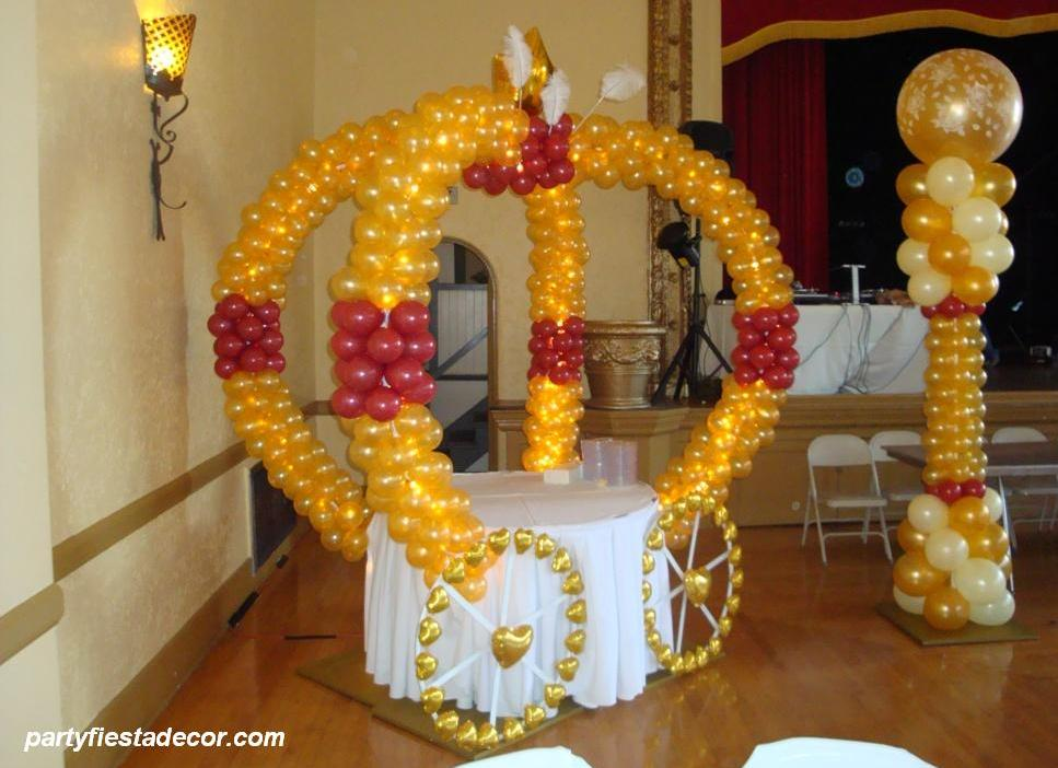 San jose party decorations store party fiesta balloon for Balloon decoration for parties