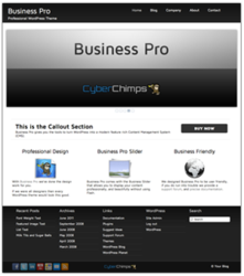 Business Pro WordPress Theme Preview
