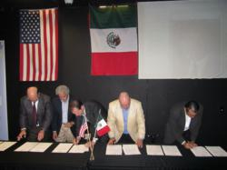 Signing of the Cali Baja MOU