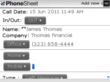 PhoneSheet Screenshot 5