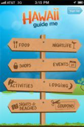hawaii guide me travel app android iphone vacation islands hawaiian