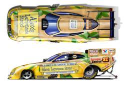 Funny Car for Alex's Lemonade Stand Foundation
