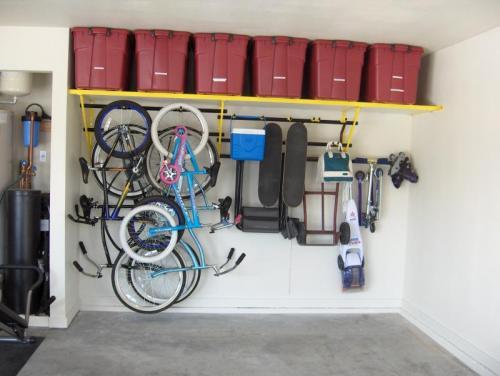 Simplified Fall Storage By Monkey Bars Garage Storage Systems