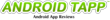 AndroidTapp.com Logo with Slogan