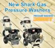 New Shark Gas Pressure Washers