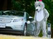 wolfie and electric vehicle charging stations
