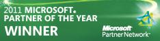 2011 Microsoft Partner of the Year Winner