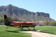 Upgrade to the premium Independence Day package and take an aerial tour with Gateway Canyons Air Tours.