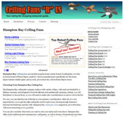 CeilingfansRus.com Website
