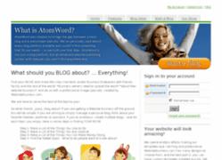AtomWord, AtomWord.com, WebsiteBusiness.com