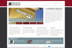 Tampa Web Design Firm Bayshore Solutions Launches Creative Sign Designs Integrated Blog