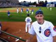 Cybernautic CEO, Chad Parker at the Chicago Cubs Spring Training in Las Vegas, NV in 2008