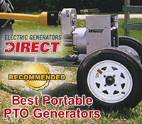 Top PTO Generators @ Electric Generators Direct