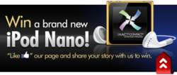 Share Your Story and Win iPod Nano Contest- IXACT Contact real estate CRM