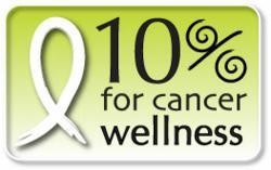 The Tea Spot's 10% for Cancer Wellness Program