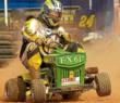 "John Nelson, ""Sir Lawns-A-Lot"" 2011 USLMRA National Lawn Mower Racing Hall of Fame inductee"