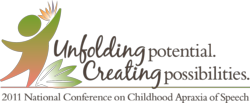 2011 National Conference on Childhood Apraxia of Speech Conference Logo