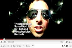 """Sahand's """"My Life My Schedule"""" Season 1 Video Entry"""