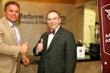 "Warren Barhorst and Dr. Loftin kick off ""Aggie Owned and Operated"" at Barhorst Insurance Group's Houston headquarters"