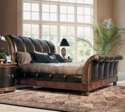 American Drew Bob Mackie 581 Home Classics Sleigh bed