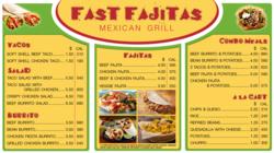 Digital nutritional menu board meets menu labeling laws