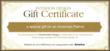 Homemade Design Interior Design Gift Certificate