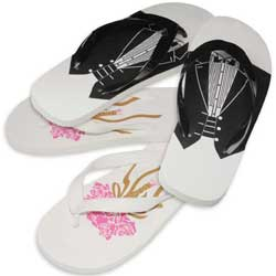 wedding, flip flop, wedding favors, marry, gifts