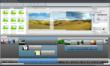 AquaSoft SlideShow 7 for YouTube - Main Window with Timeline View