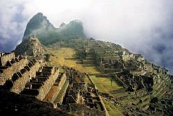 Ruins of Machu Piccu in Peru