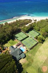 Maui Country Club boasts 6 Tennis courts, an outdoor swimming pool that  opens onto the North Shore's Baby Beach