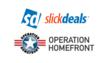 Slickdeals and Operation Homefront Logos