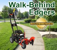 walk behind edger, wheeled edger, walk behind edgers, wheeled edgers
