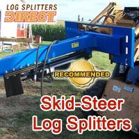 skid steer log splitter, skid steer log splitters, skid steer wood splitter, skid steer wood splitters