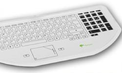 keywi CleanBoard Medical Keyboard with Touchpad
