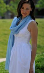 Ice Blue Pashmina Shawl