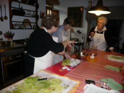 Cooking with the Tuscan Mommas