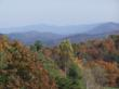 Looking Out Across the Blue Ridge Mountains