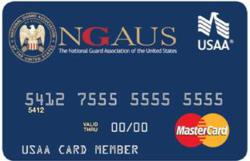 New account and transaction revenue associated with the co-branded credit card will assist National Guard Association of the United States in developing and delivering programs and services supporting the association's programs.