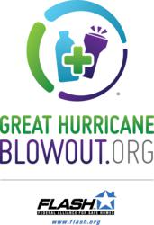 The Great Blowout encourages the use of proven hurricane preparedness tools such as family plans, hurricane emergency kits, and tips for making structurally stronger homes.