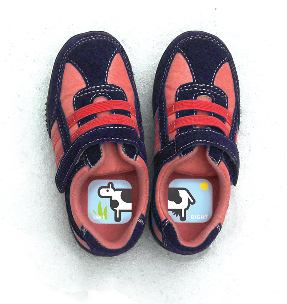 Shoezooz Educational Shoe Stickers For Kids Named To Oprah