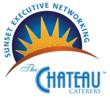 Sunset Executive Networking in The Chateau Garden Oasis