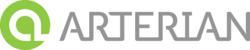 Arterian name and logo